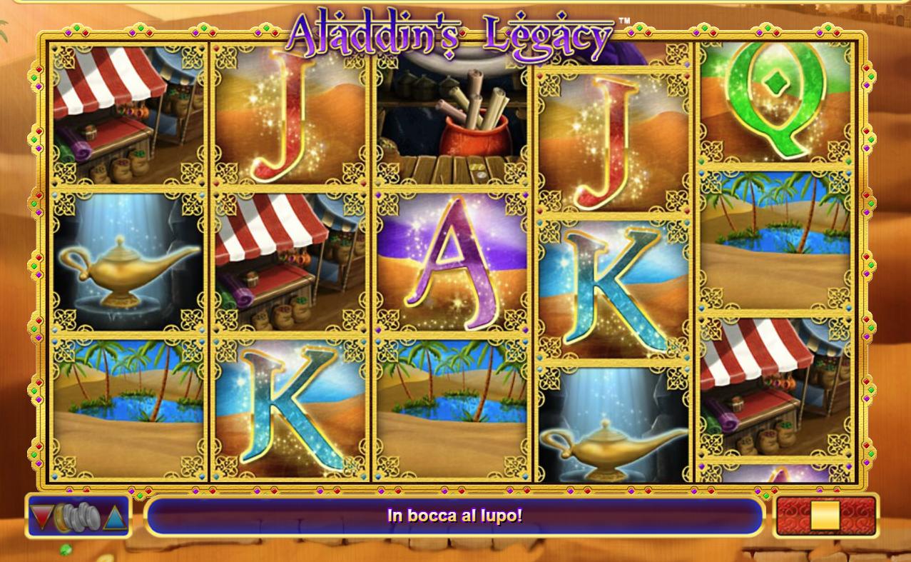 Alladin's Legacy