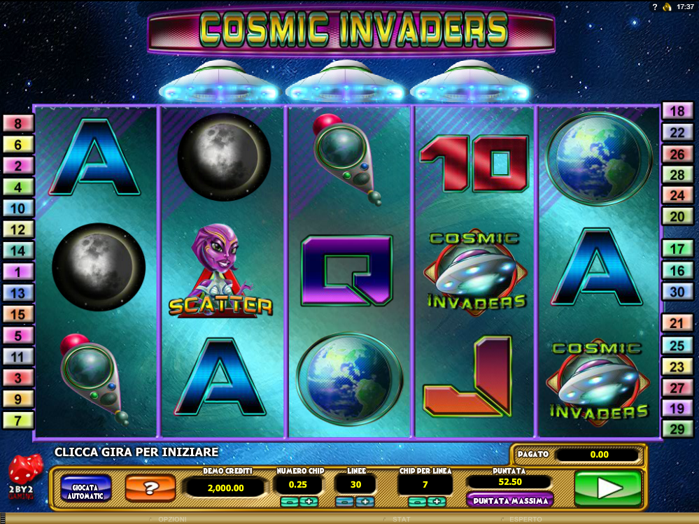 Cosmic Invaders