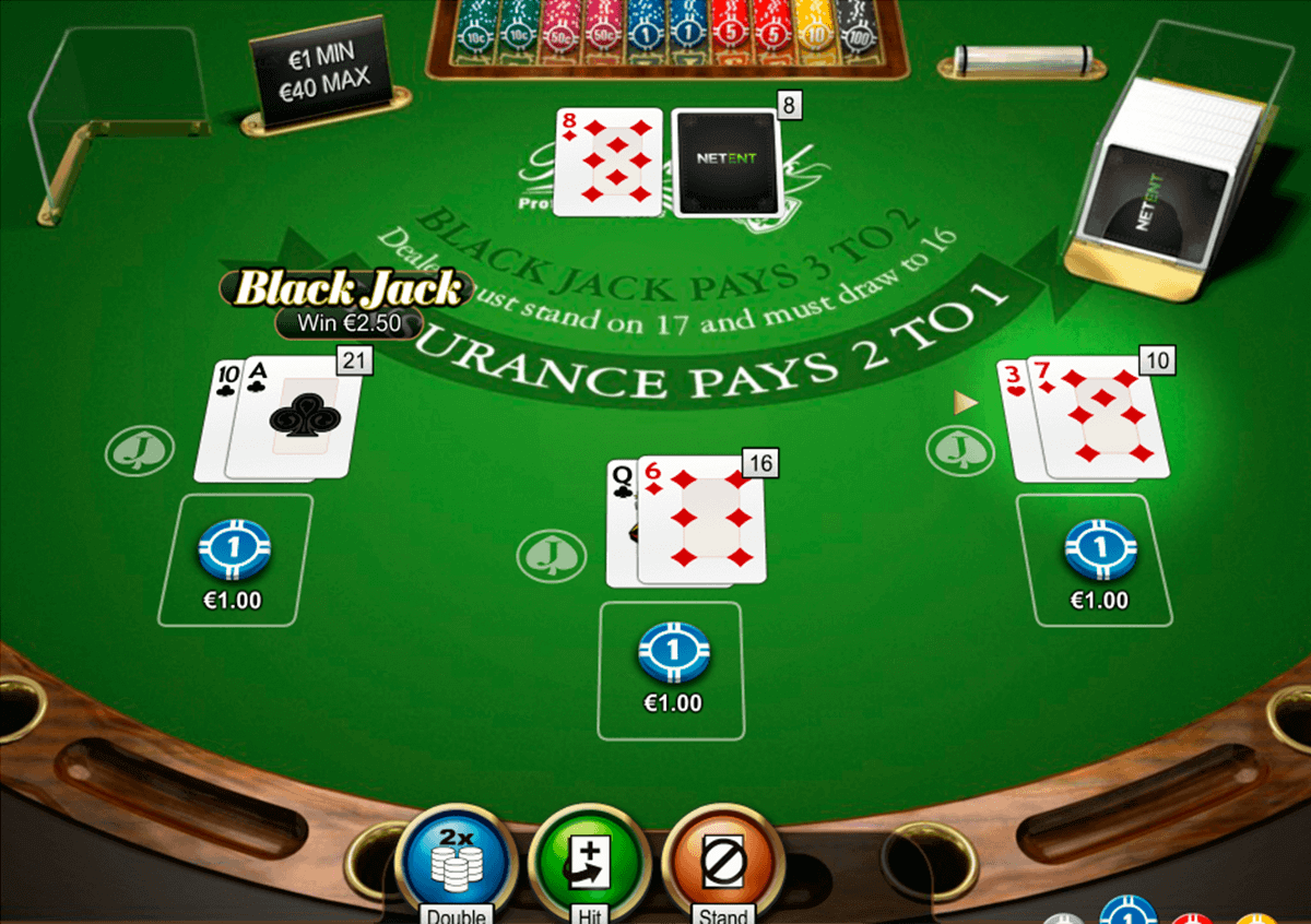 Double Xposure Blackjack Professional Series
