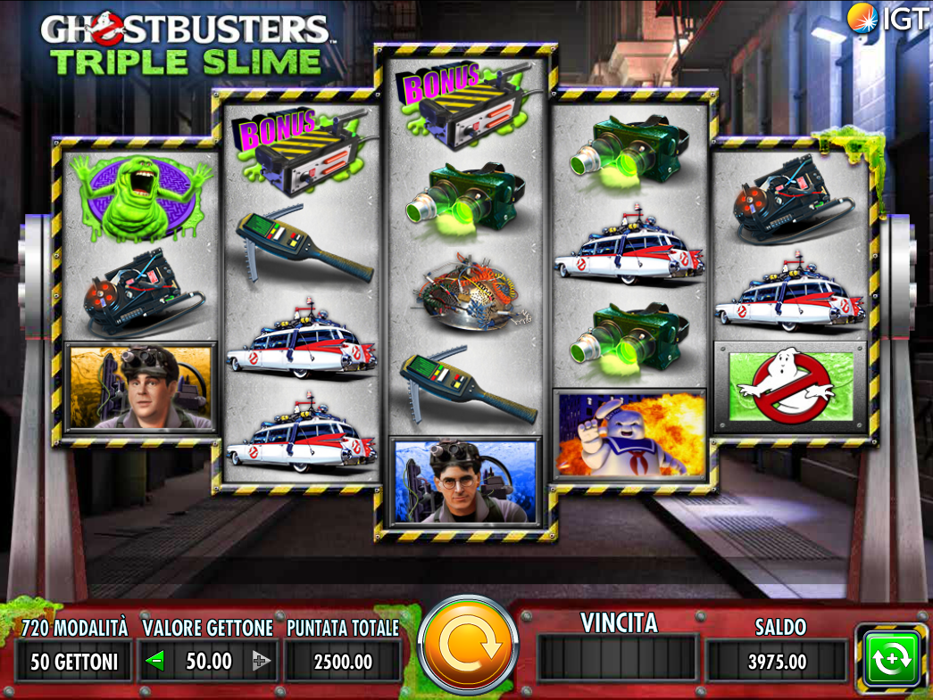 Ghostbusters Triple Slime