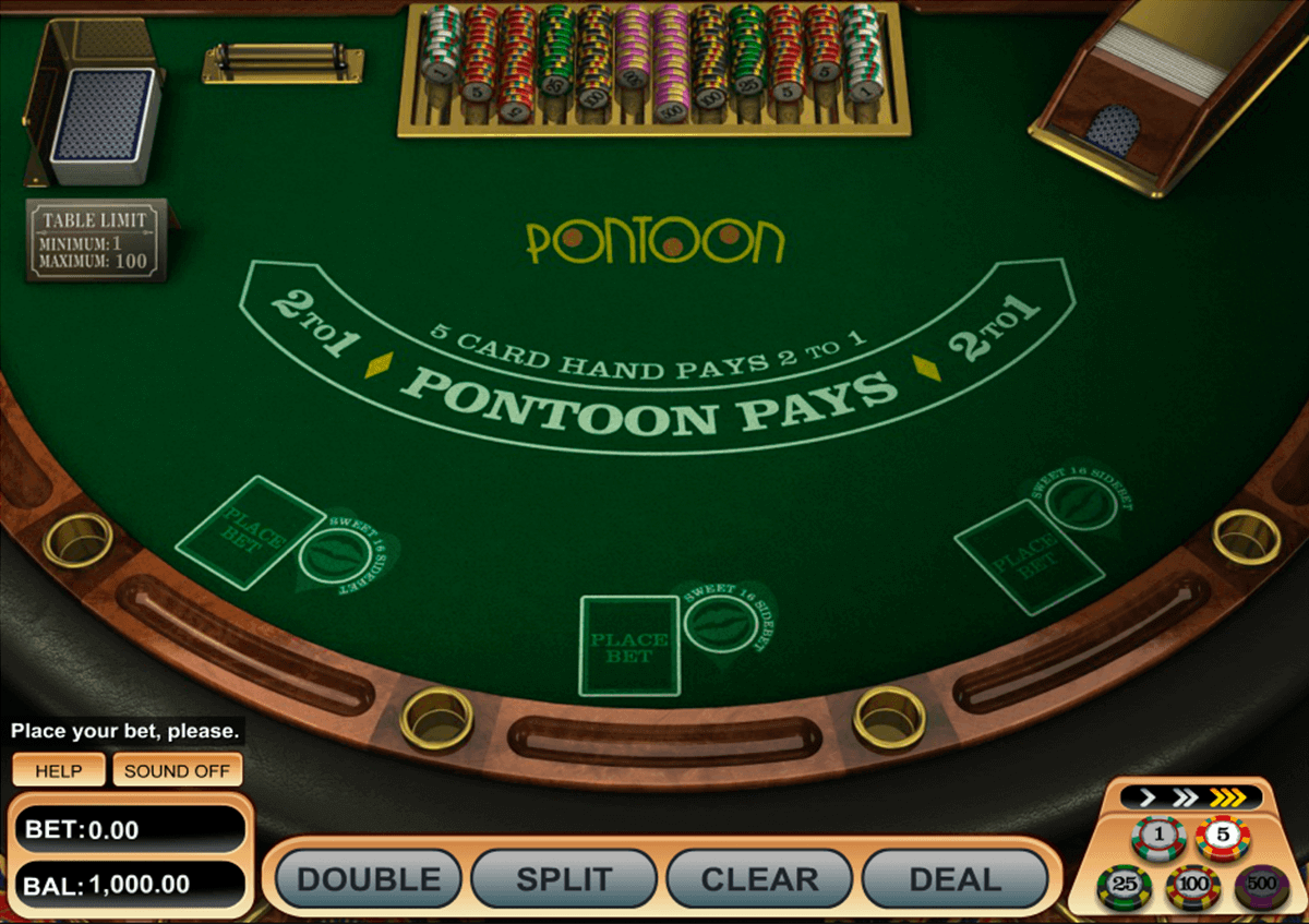 Pontoon BlackJack