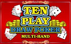 ten play draw poker